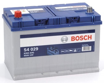 Аккумулятор Bosch S4 029, 12 В, 95 Ач, 830 а