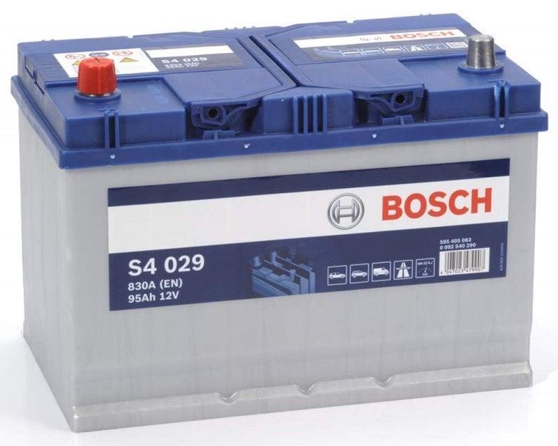Akumuliatorius Bosch S4 029, 12 V, 95 Ah, 830 A