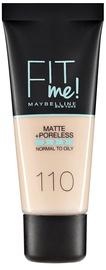 Maybelline Fit Me Matte + Poreless Foundation 30ml 110 Porcelain