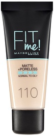 Maybelline Fit Me Matte + Poreless Foundation 30ml 110 Porcelain