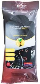 Bottari Cockpit Cleaning Tissues Matt Lemon & Lime