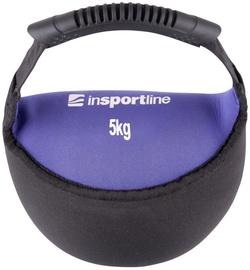 inSPORTline Neoprene Dumbbell Bell-Bag Black/Purple 5kg
