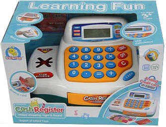 Tommy Toys Cash Register Learning Fun 34445