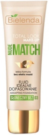 Bielenda Total Look Make-up Illuminating Fluid Foundation Nude Match 30ml 03
