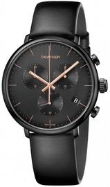 Calvin Klein Men's Watch Chronograph High Noon K8M274CB Black