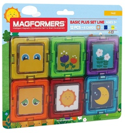 Magformers Card Plus Face Set 12pcs 715011