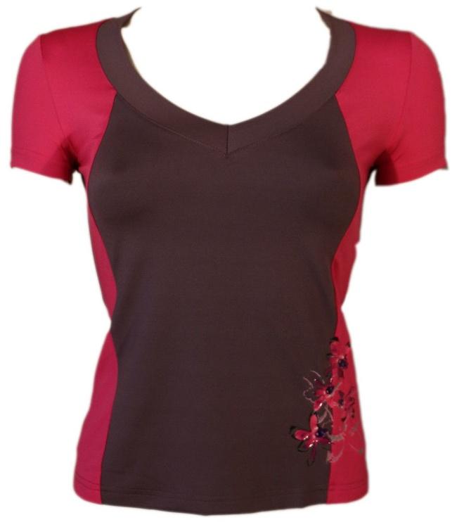 Футболка Bars Womens T-Shirt Brown/Pink 93 S