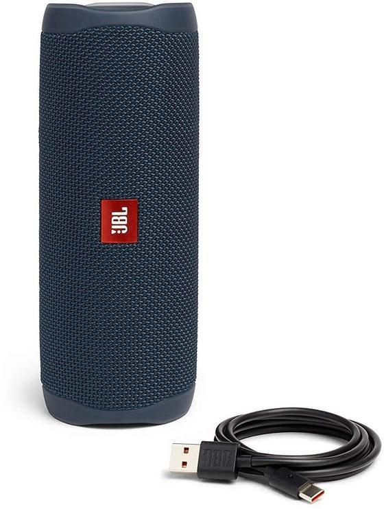 Belaidė kolonėlė JBL Flip 5 Blue, 20 W