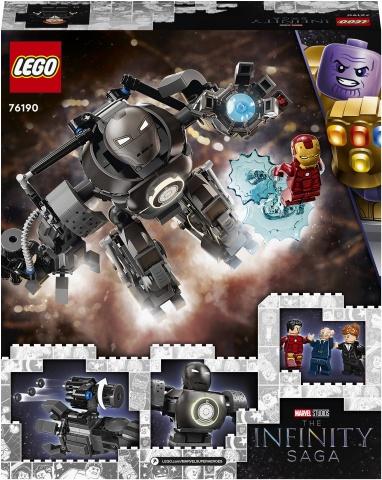 Конструктор LEGO Marvel Iron Man Iron Monger Mayhem 76190, 479 шт.