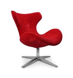 Fotelis Blazer, raudonas