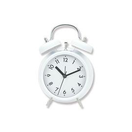 SN Quartz Table Clock 11.8x5.7x17cm White