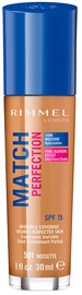 Rimmel London Match Perfection Foundation SPF20 30ml 501