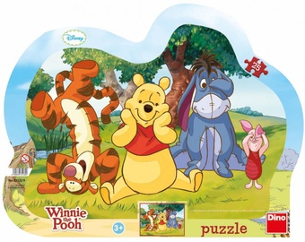 Puzle Dino Winnie the Pooh and Friends 311329, 25 gab.