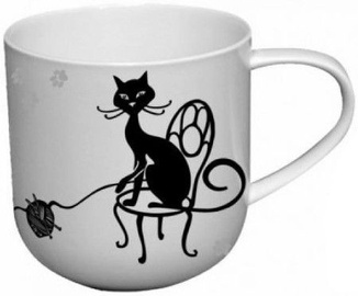Carmani Crazy Cats Mug Cat Ball 500ml