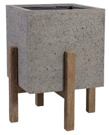Home4you Sandstone Flowerpot 71843 48.5x48.5xH60cm Gray
