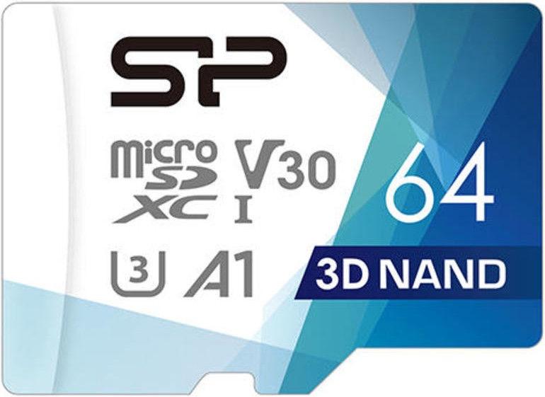 Silicon Power Superior Pro Colorful microSDXC 64GB UHS-I Class 10