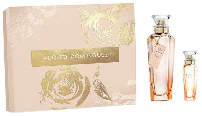 Набор для женщин Adolfo Dominguez Agua Fresca de Rosas Blancas 120 ml EDT + 30 ml EDT