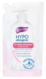 Luksja Hypo Allergenic Vitamin E & Glycerine Liquid Soap Refill 400ml