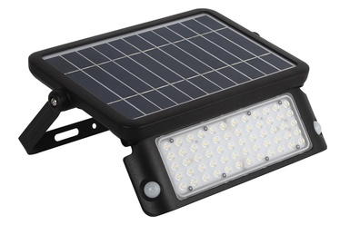 Kobi Solar Floodlight LED MHC 10W Black
