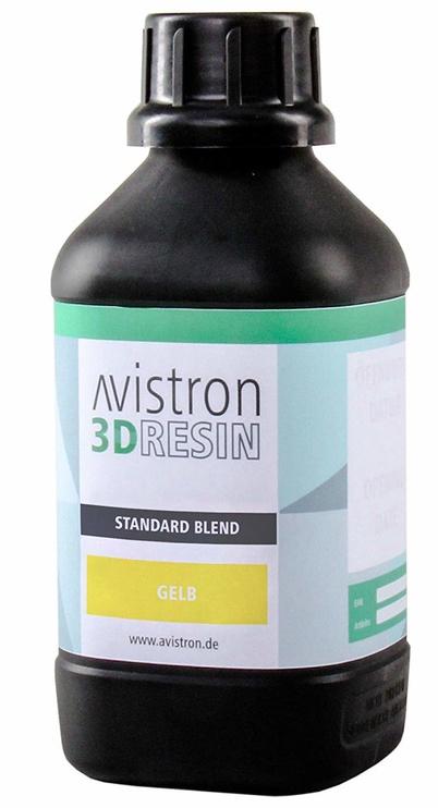 Расходные материалы для 3D принтера Avistron 3D Resin Standard Blend, желтый