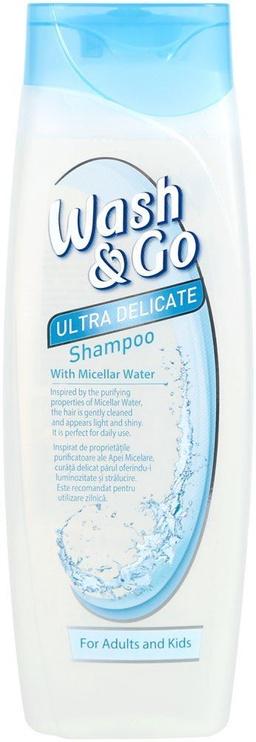 Šampūnas Wash&Go Micellar, 400 ml