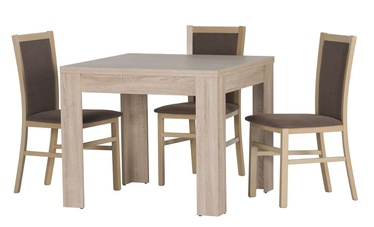 Szynaka Meble Dining Room Set Saturn Sonoma Oak