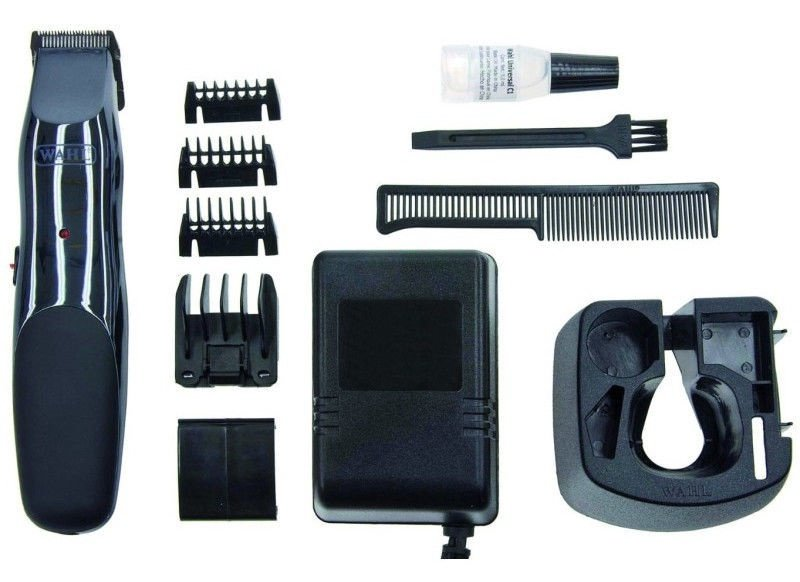 Wahl GroomsMan Rechargeable Trimmer 9918-1416 Black