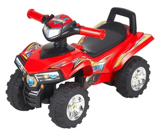 Skuuter 551 K4-rattaga, punane