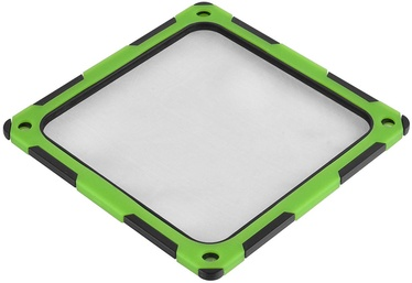 Silverstone SST-FF124BV-E Dust Filter 120mm Black/Green