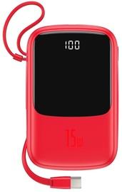 Зарядное устройство - аккумулятор Baseus PPQD-A01 Q Pow, 10000 мАч, красный