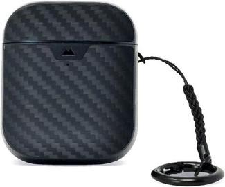 Mous Aramid Fibre Protective Case for Apple Airpods 1 / 2 Black