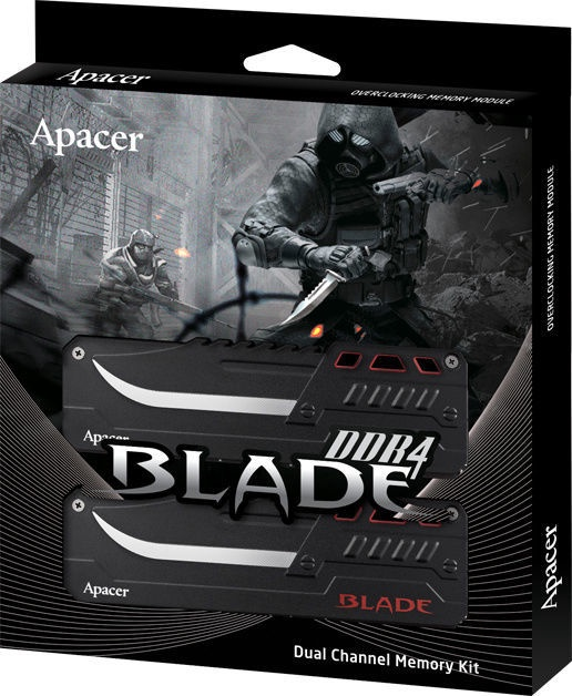 Apacer Blade 16GB 3000MHz CL16 DDR4 KIT OF 2 EK.16GAZ.GJBK2