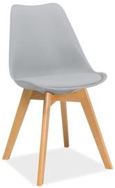 Söögitoa tool Signal Meble Kris Light Grey, 1 tk