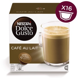 Nescafe Dolce Gusto Cafe Au Lait 16 Capsules
