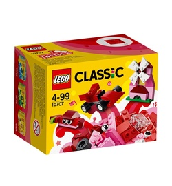 LEGO Classic Red Creativity Box 10707