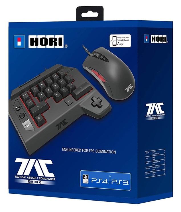 Hori Tactical Assault Commander 4 Four Type K2 PS4/PS3 Black