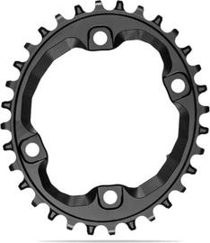 AbsoluteBlack Oval XT M8000/MT700 N/W For SH 12 Chain 36T Black
