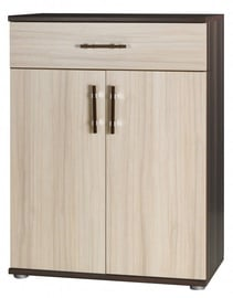 Jurek Meble Inez Plus Reg 10 Chest Of Drawers Dark Ash/Ash
