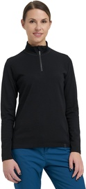 Audimas Merino Wool Mix Jumper Black L