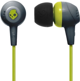Ausinės Skullcandy JIB Gray/Hot Lime