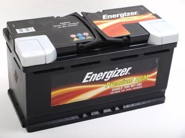 Akumuliatorius Energizer Premium AGM EA95L5, 12 V, 95 Ah, 850 A