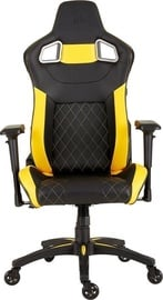 Žaidimų kėdė Corsair T1 RACE 2018 Black/Yellow