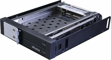 "Akasa Drive Cage 3.5 "" For 2x2.5"" HDD/SD"