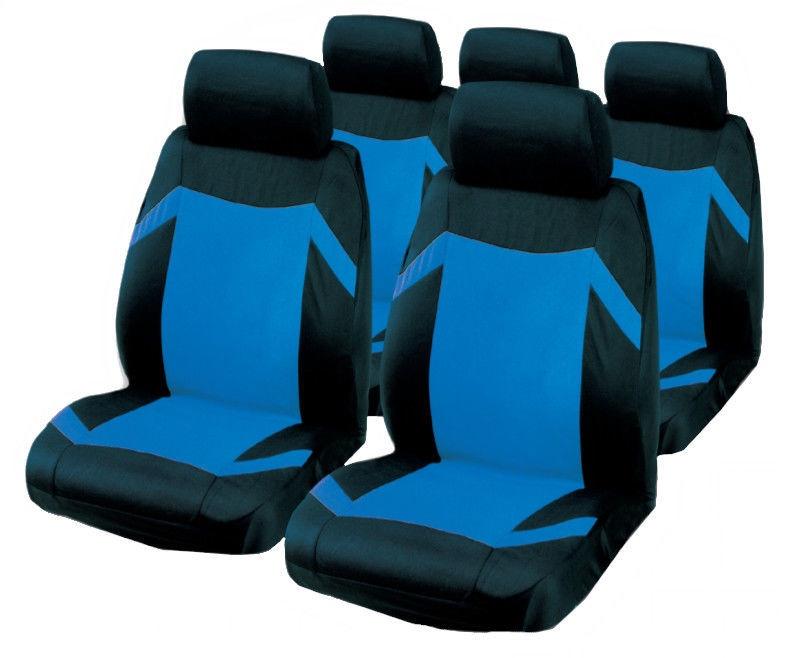 Чехлы для автомобильных сидений Bottari R.Evolution Keen Seat Cover Set Black Blue