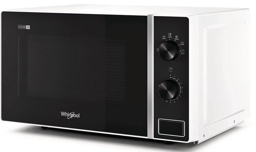 Mikrobangų krosnelė Whirlpool MWP101W Black/White