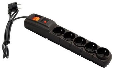 Acar Surge Protector 5 Outlet Black 3 m