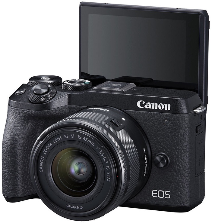 Canon EOS M6 Mark II + 15-45 IS STM Black