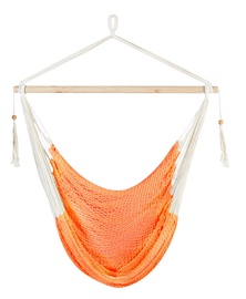 Home4you Carina Cotton Swing Chair Orange