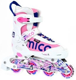 Mico Plus Twist Girl White/Pink 40-43