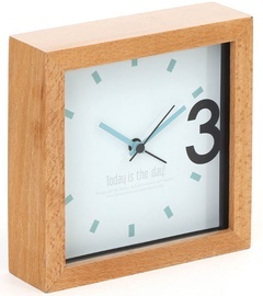 Platinet Alarm Clock April Wood 43623